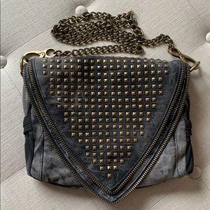 Studded crossbody bag